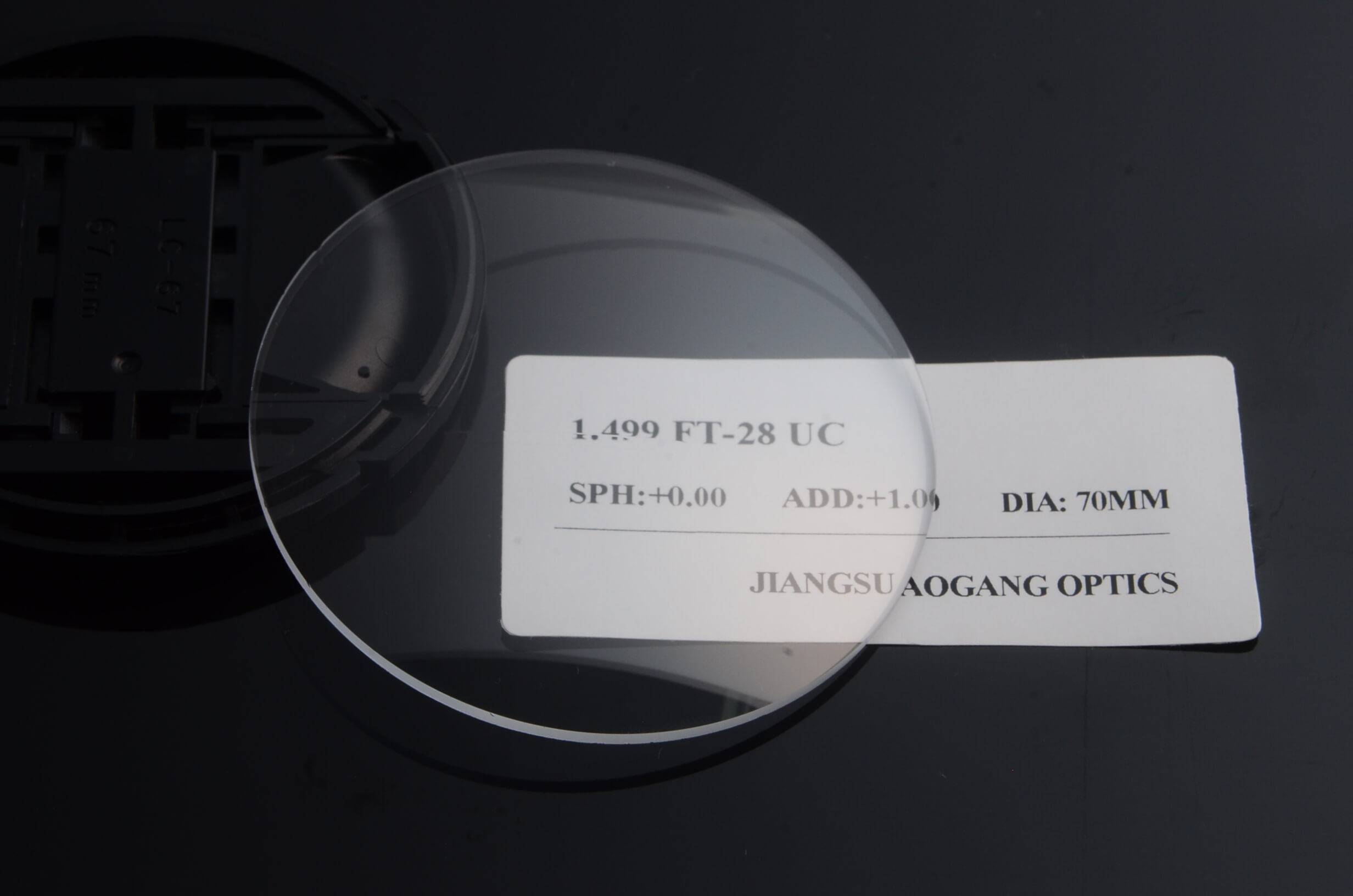 CR39 1.499 Uncut flat top bifocal uc lenses