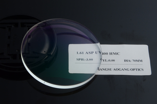 UV400 Protection MR-8 Aspherical HMC Prescription 1.6 High Index Lenses